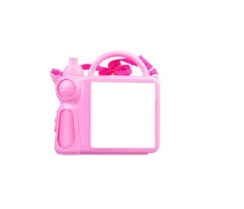 Personalised Lunch Boxes with Handle - Pink